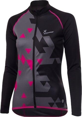 Černý dámský cyklistický dres Klimatex - velikost S
