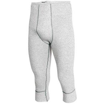 Šedé pánské funkční kalhoty Craft - velikost S