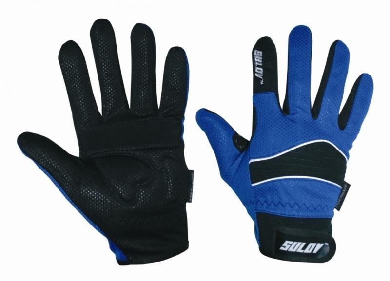 Rukavice na běžky - Sulov běžkařské rukavice modré - M