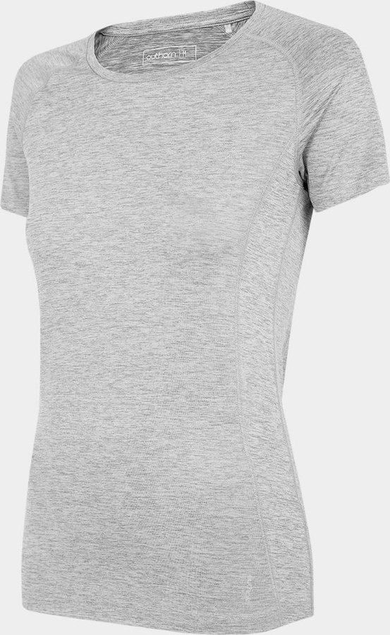Šedé dámské funkční tričko s krátkým rukávem Outhorn