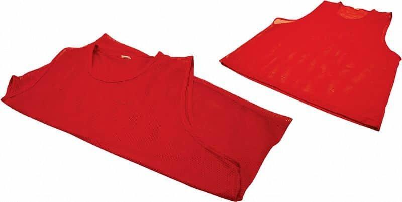 Červený rozlišovací dres Rulyt - velikost M