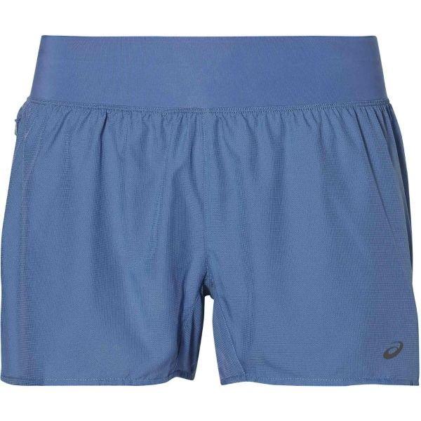Modré dámské běžecké kraťasy Asics