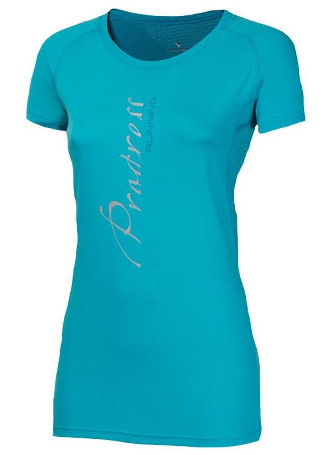 Modré dámské tričko s krátkým rukávem Progress - velikost XL