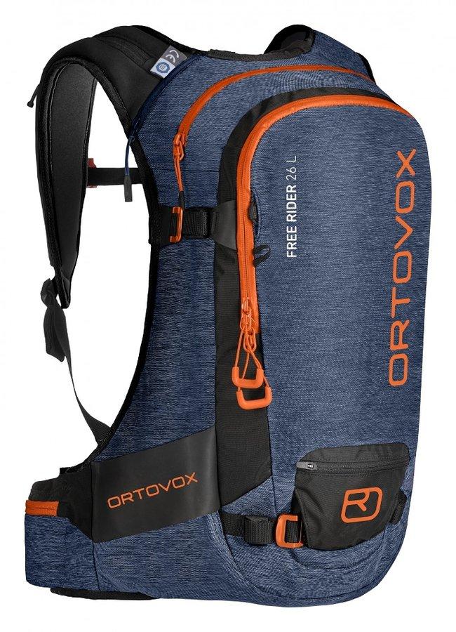 Modrý skialpový batoh Ortovox - objem 26 l