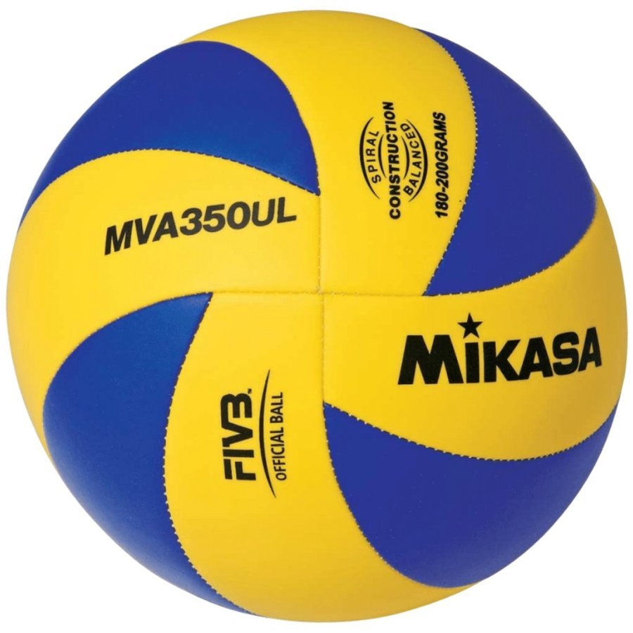 Modro-žlutý volejbalový míč MVA 350 UL, Mikasa - velikost 5