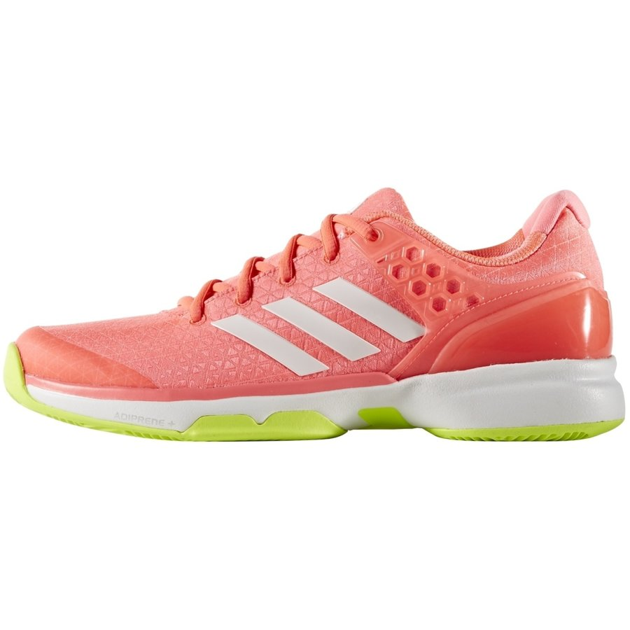Oranžová dámská tenisová obuv Adizero Ubersonic 2, Adidas - velikost 38 EU
