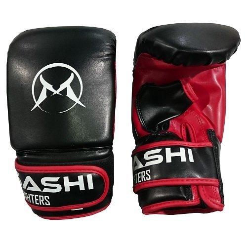 Černo-červené boxerské rukavice Musashi