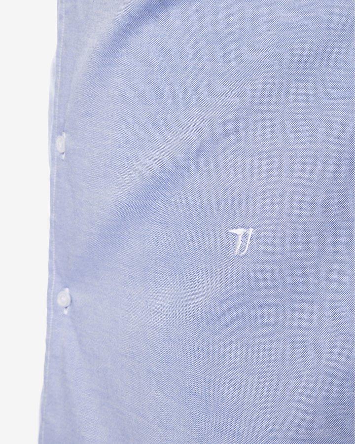 Modrá pánská košile s dlouhým rukávem Trussardi Jeans - velikost 42