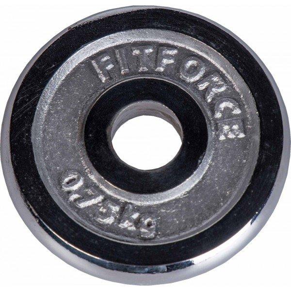 Kotouč na činky Fitforce - 0,75 kg