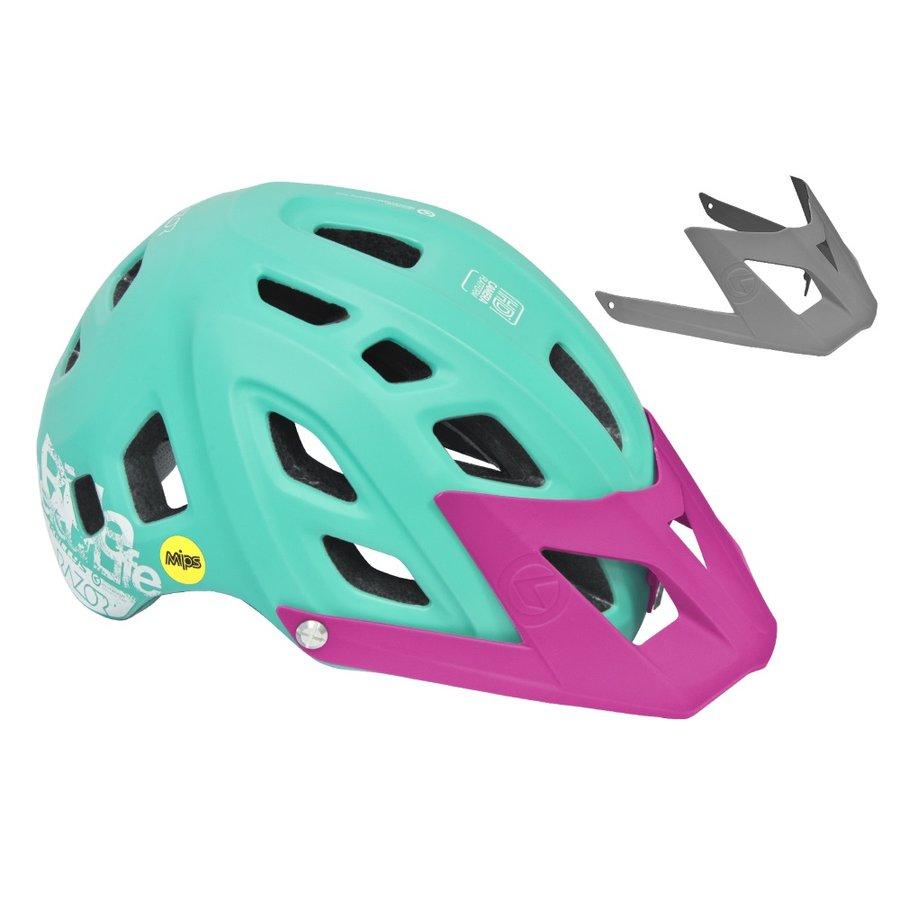 Zelená cyklistická helma Razor MIPS, Kellys - velikost 58-62 cm