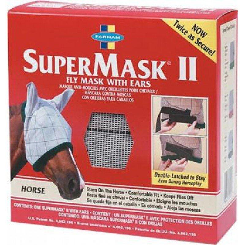 Bílá maska proti hmyzu Farnam - cob