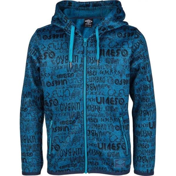 Modrý chlapecký svetr Umbro - velikost 116