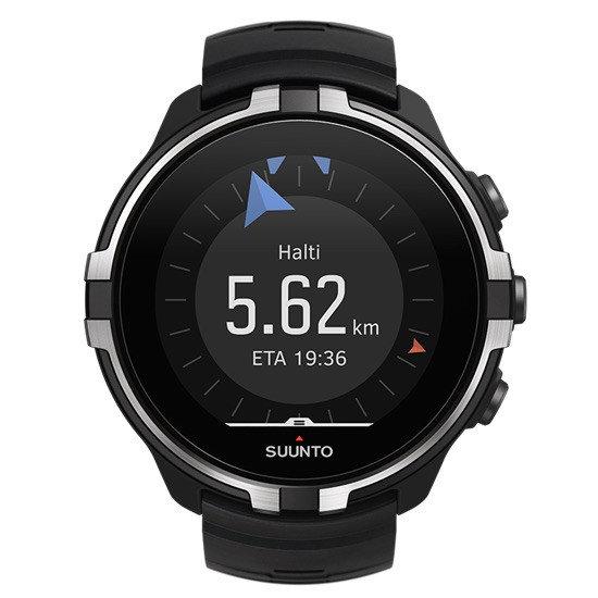 Černé sportovní chytré dámské hodinky Spartan WHR Baro, Suunto