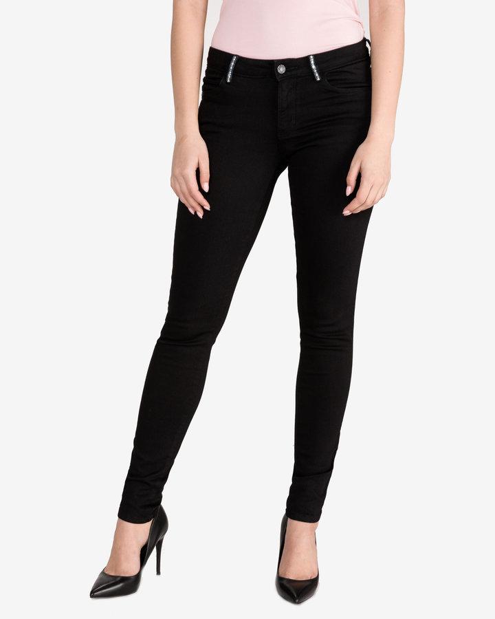 Černé dámské džíny Guess - velikost 29