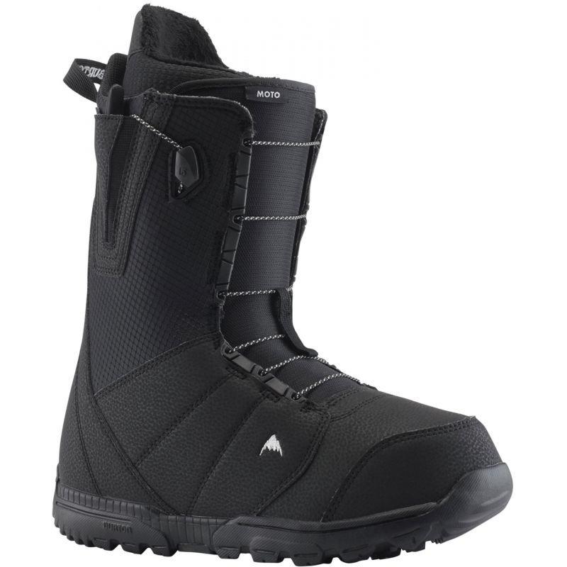 Černé pánské boty na snowboard Burton - velikost 47 EU