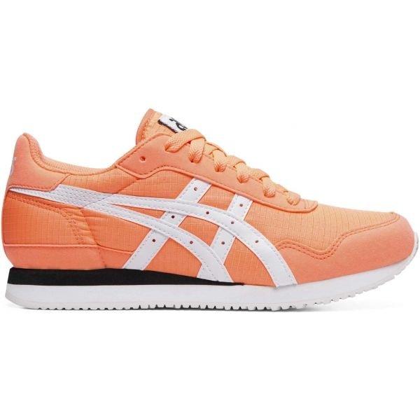Oranžové dámské tenisky Asics - velikost 39,5 EU