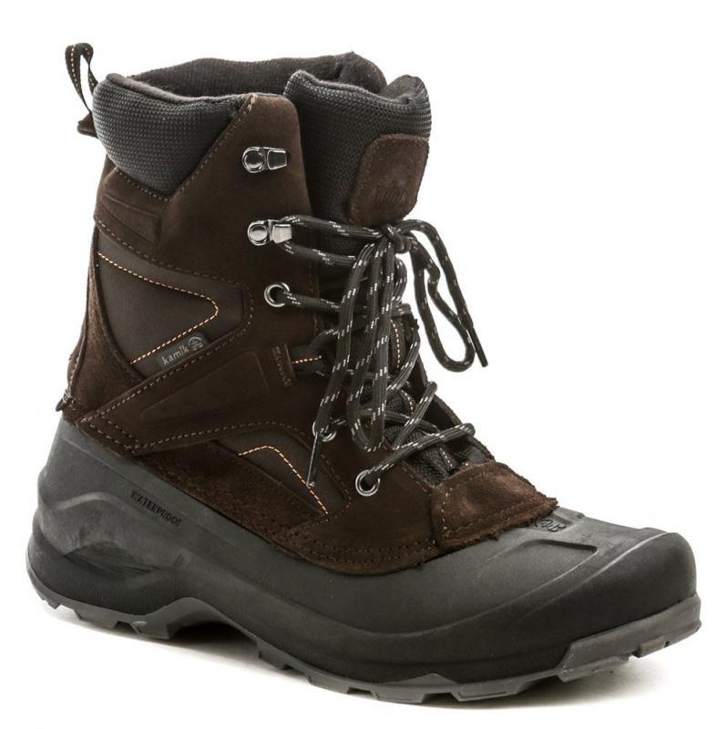 Hnědé pánské zimní boty KAMIK - velikost 42 EU