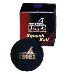 """Černý míček na squash """"modrá tečka"""" ProKennex - 1 ks"""