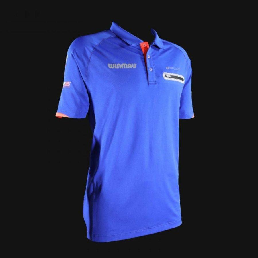 Modrý šipkařský dres Winmau - velikost XXL