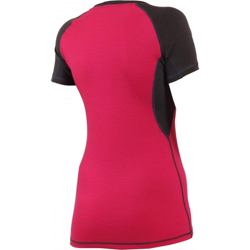 Černé dámské funkční tričko s krátkým rukávem Lasting - velikost L