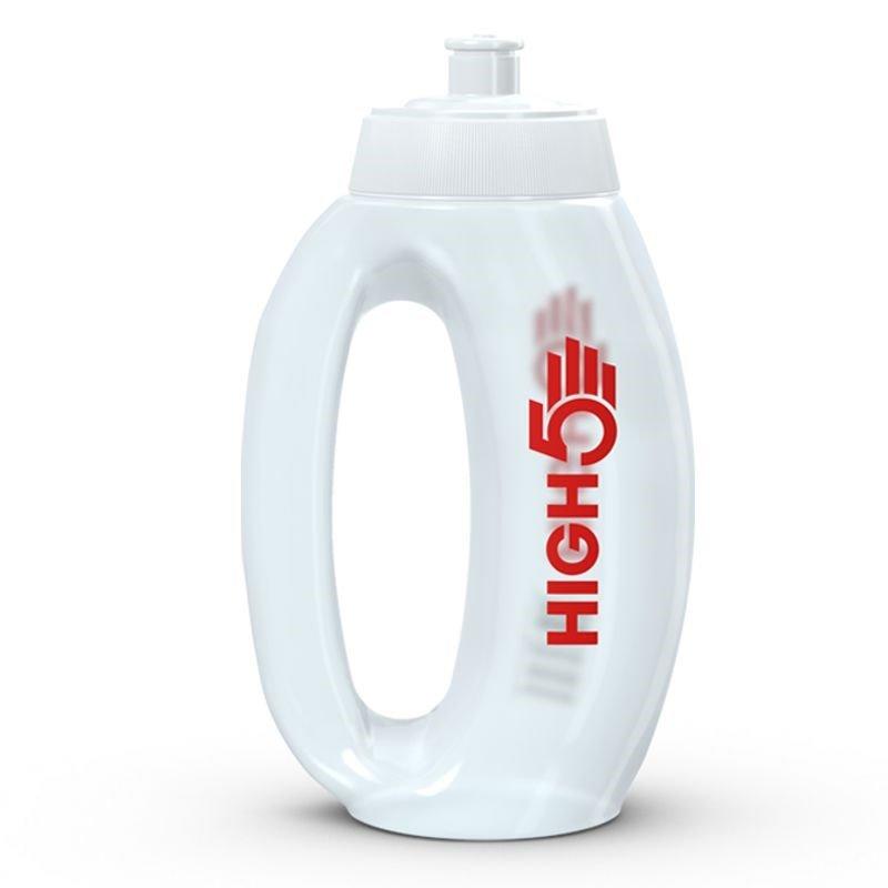 Bílá láhev na pití HIGH5 - objem 0,75 l