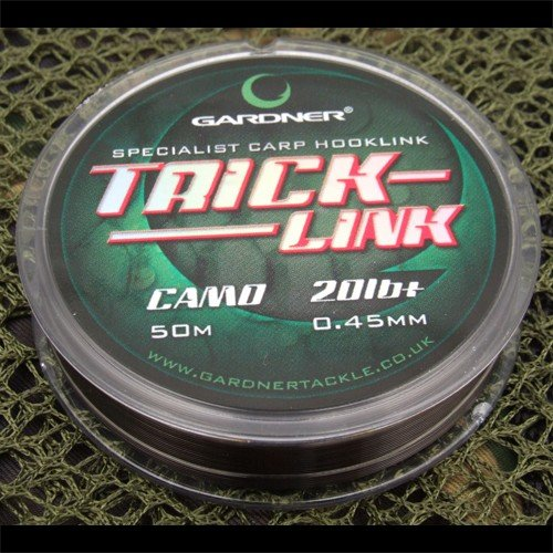 Rybářský vlasec - Gardner Vlasec Trick-Link Varianta: 0,45mm/20lb+