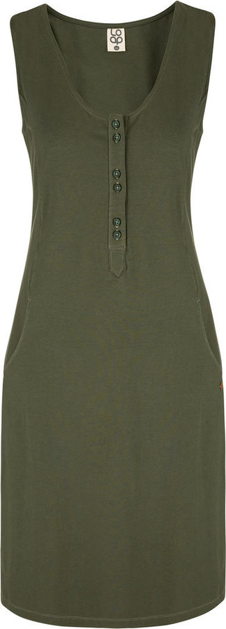 Zelené dámské šaty Loap - velikost XL