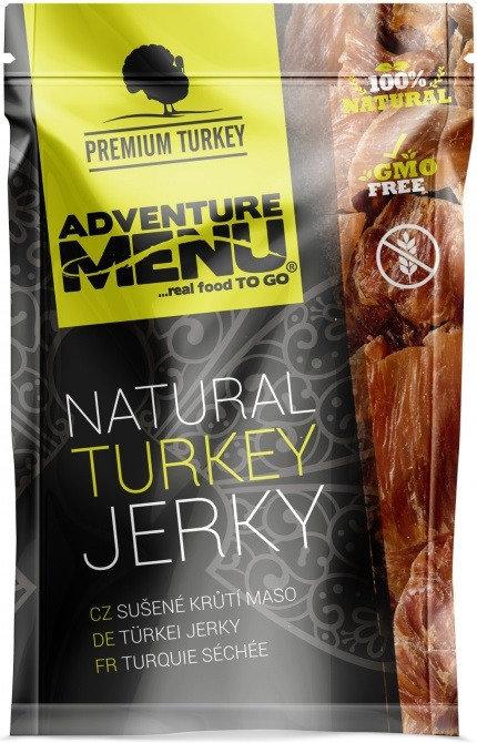 Sušené krůtí maso - Adventure Menu Krůtí jerky 100g
