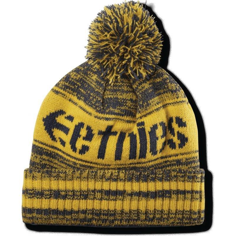 Žlutá zimní čepice Etnies - univerzální velikost