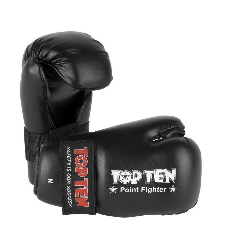 Černá karate rukavice Top Ten - velikost L