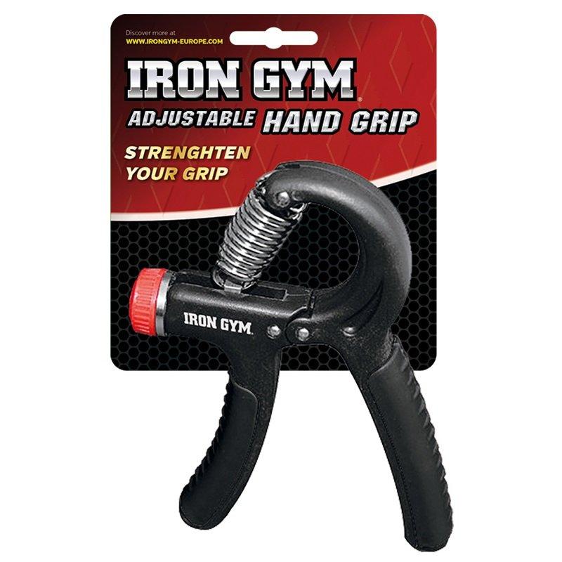 Černý pružinový posilovač nastavitelný Iron Gym - 1 ks