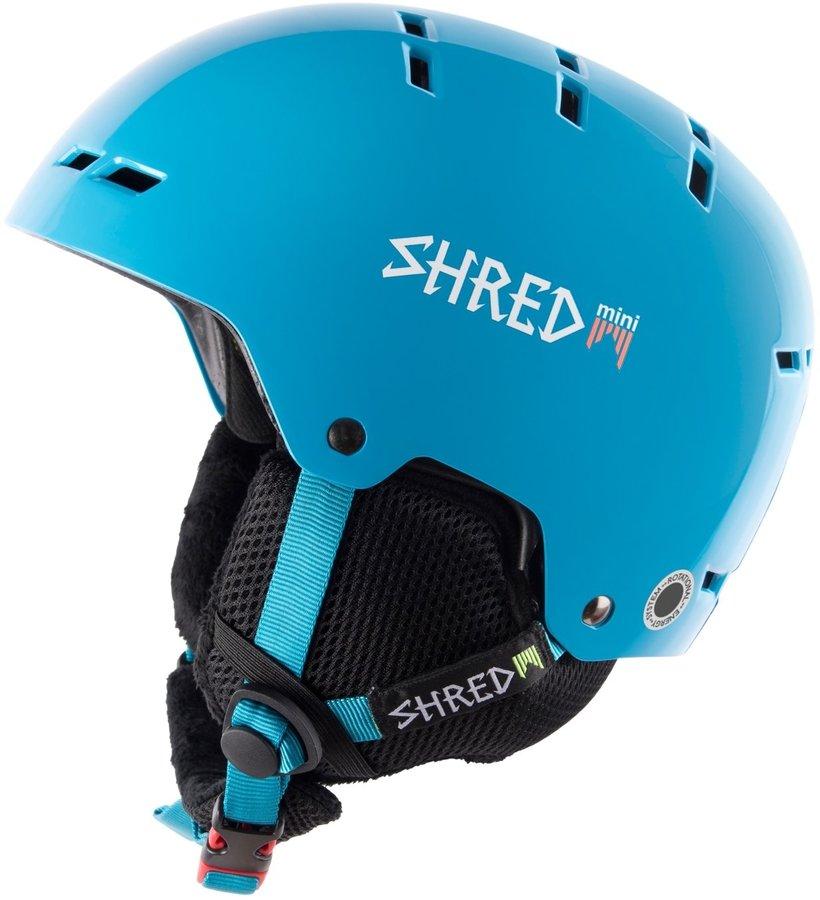 Modrá chlapecká lyžařská helma Shred