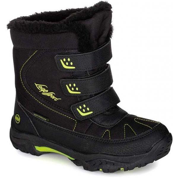 Zelené chlapecké zimní boty Loap
