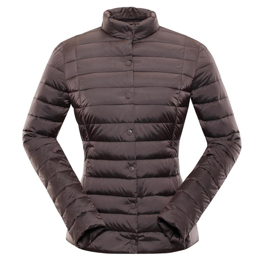 Hnědá zimní dámská bunda Alpine Pro