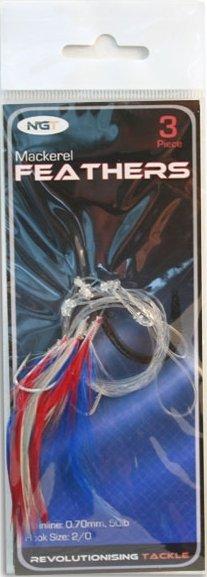 Návazec - Ngt mořský návazec mackerel feathers rig