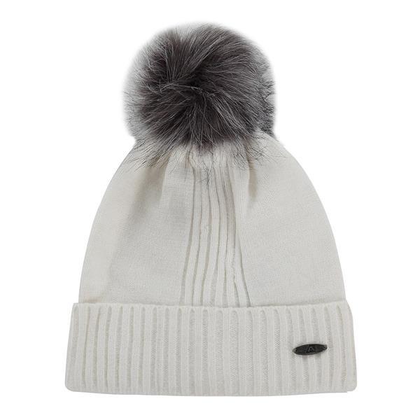 Bílá zimní čepice Alpine Pro - velikost S