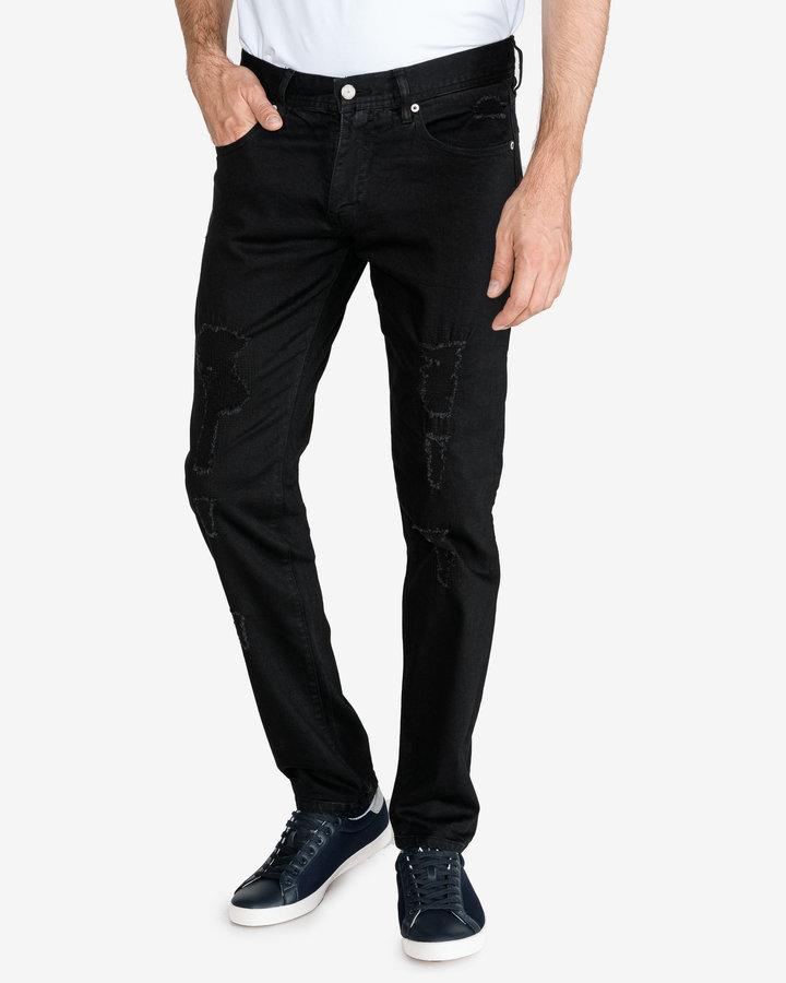 Černé pánské džíny Armani Exchange