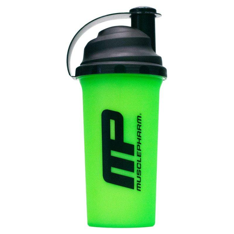 Černo-zelený shaker MusclePharm - objem 700 ml