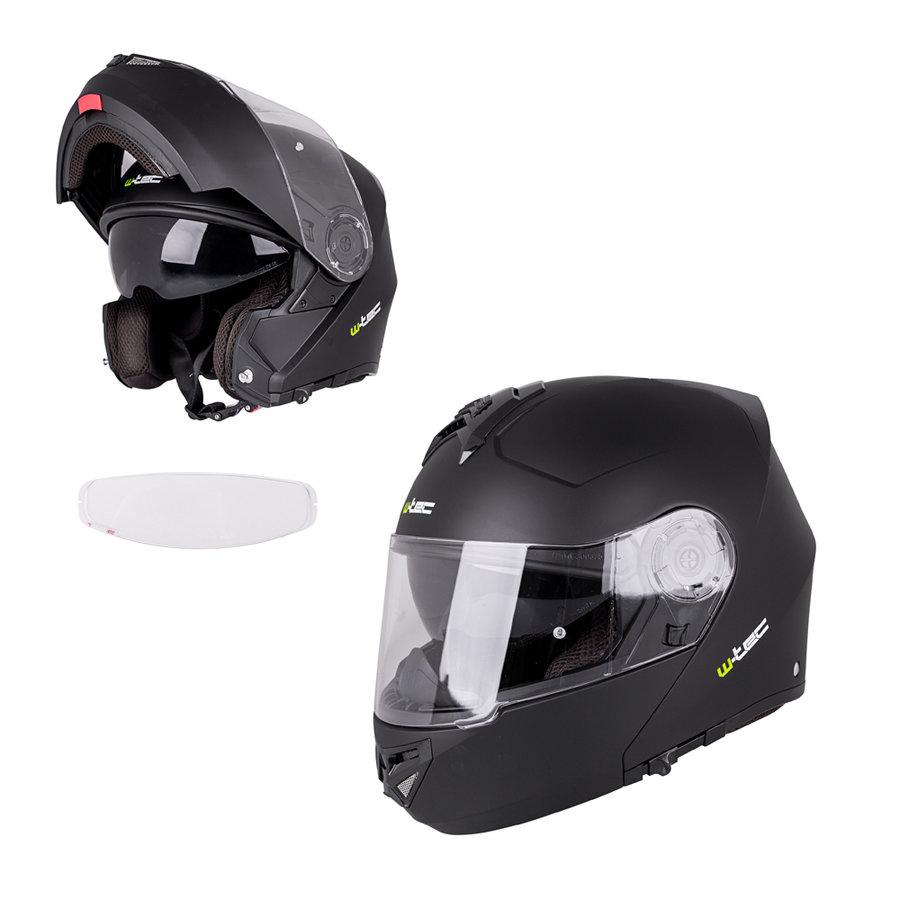 Helma na motorku V270 PP, W-TEC - velikost 53-54 cm
