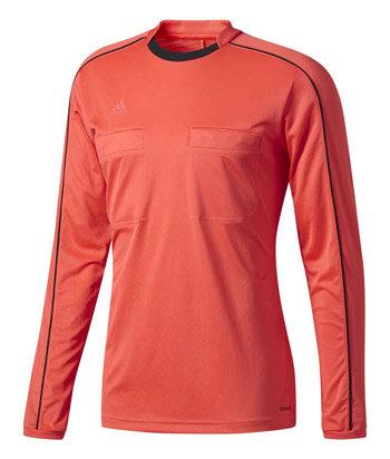 Žlutý fotbalový dres pro rozhodčího s dlouhým rukávem Referee 16, Adidas