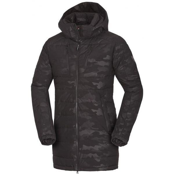 Černý pánský kabát NorthFinder