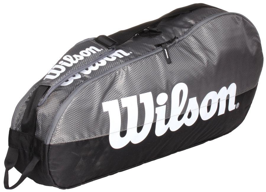Šedá tenisová taška Wilson