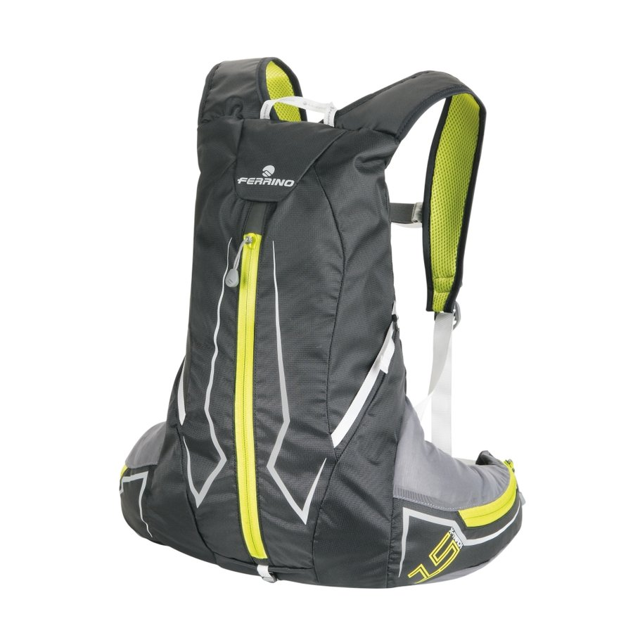 Černo-šedý běžecký batoh X-Track, Ferrino - objem 15 l