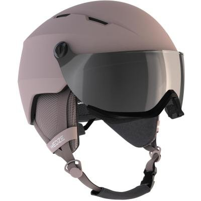 Růžová lyžařská helma Wed'ze - velikost 53-56 cm