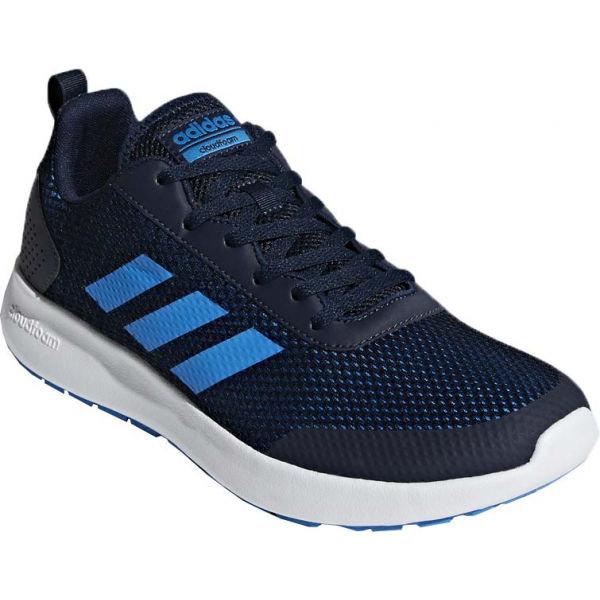 Modré pánské běžecké boty Adidas - velikost 44 2/3 EU