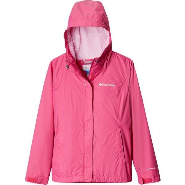 Růžová dívčí bunda Columbia