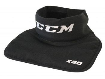 Černý hokejový nákrčník - senior CCM
