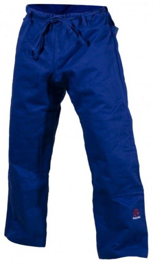 Modré kalhoty na judo Hayashi