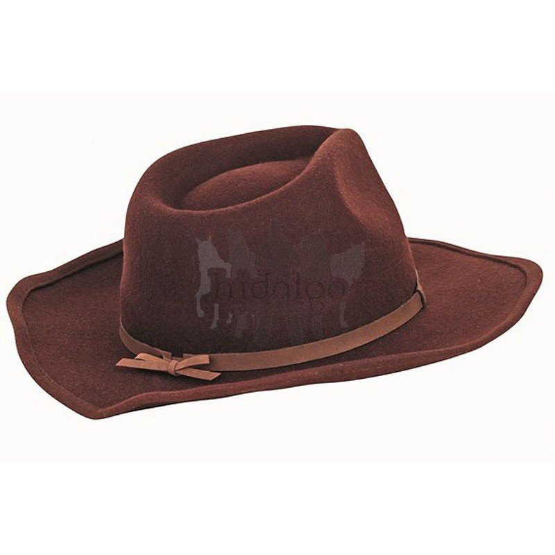 b81a0e514af Hnědý westernový jezdecký klobouk HKM - velikost 57 cm