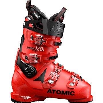 Červené pánské lyžařské boty Atomic - velikost vnitřní stélky 32 cm